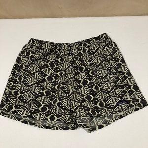 Patagonia Dark Gray Elastic Waist Tie Shorts